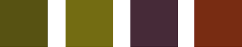 2015 Colour Palette