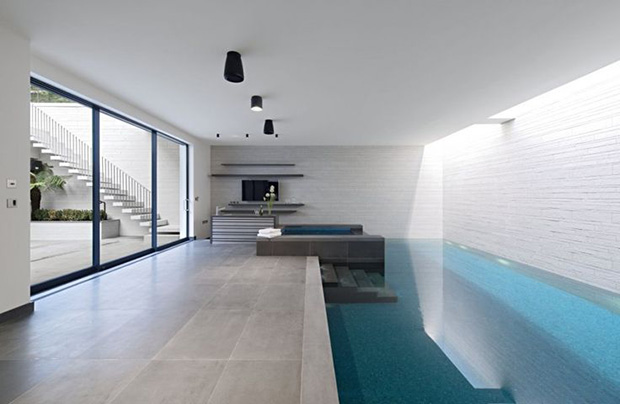 Our services basement conversions tage london for Basement swimming pool ideas