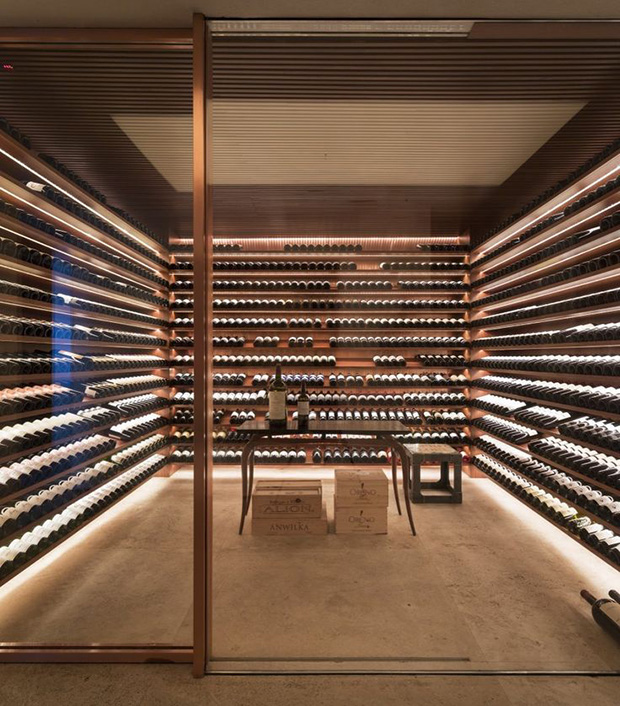 Modern Wine Cellar London Wine Cellar London