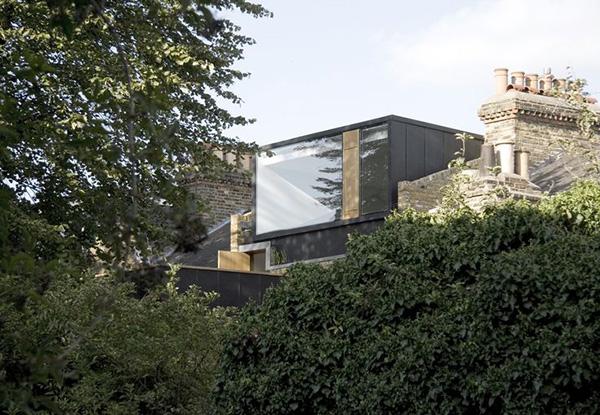 Modern Glass Loft Conversion