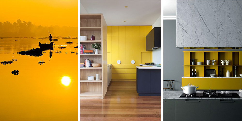 Indian Yellow Kitchens